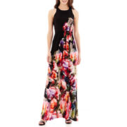 i jeans by Buffalo Sleeveless Floral Print Maxi Dress