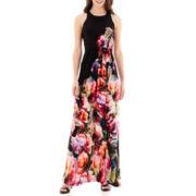 i jeans by Buffalo Sleeveless Floral Print Maxi Dress