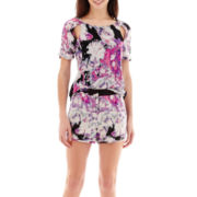 I 'Heart' Ronson® Cutout-Shoulder Print Top or Print Shorts