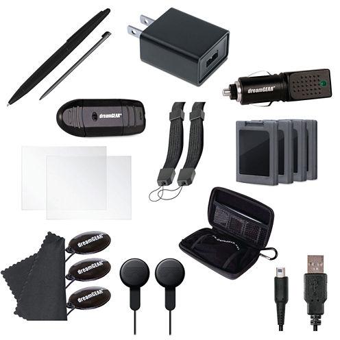 DreamGear DG3DSXL-2261 Nintendo 3DS XL 20-in-1 Essentials Kit