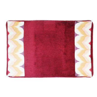 Popular Bath Flame Stitch Bath Rug Collection