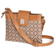 9 & Co.® Signature Jacquard Crossbody Bag