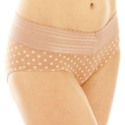 Warner's® No Pinching, No Problems.® Lace-Trim Hipster Panties - 5609