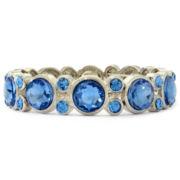 Monet® Blue Crystal Stretch Bracelet