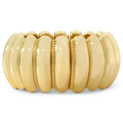 Monet® Gold-Tone Rope Large Stretch Bracelet