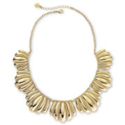 Monet® Gold-Tone Scalloped Necklace