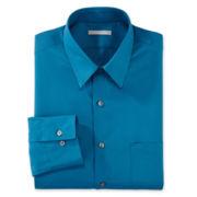 Van Heusen® No-Iron Poplin Fitted Dress Shirt