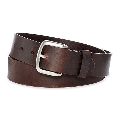 Dickies® Brown Leather Belt