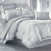 Queen Street® Alyssandra 4-pc. Jacquard Comforter Set & Accessories