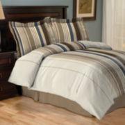 Deven Vertical Striped Comforter Set