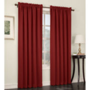 Sun Zero™ Ludlow Rod-Pocket Room-Darkening Curtain Panel Pair