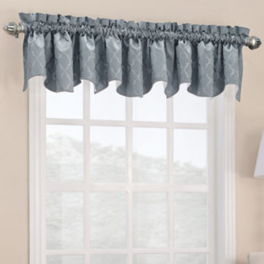 jcpenney.com | Sun Zero™ Dion Shaped Rod-Pocket Valance