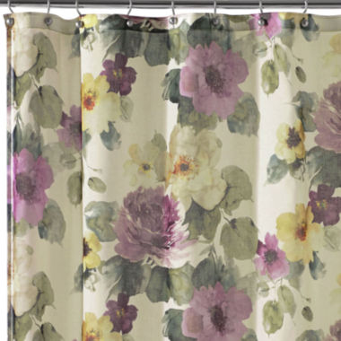 jcpenney.com | Queen Street® Carlyon Floral Shower Curtain