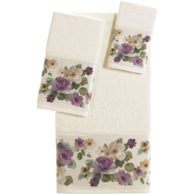 jcpenney.com | Queen Street® Carlyon Floral Bath Towels