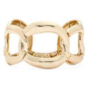 Gold-Tone Link Stretch Bracelet