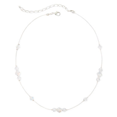 jcpenney.com | Vieste® Crystal Silver-Tone Illusion Necklace