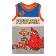 Disney by Okie Dokie® Finding Dory Tank Top- Toddler Boys