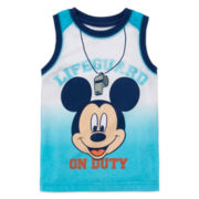 Disney by Okie Dokie® Mickey Tank Top - Toddler Boys