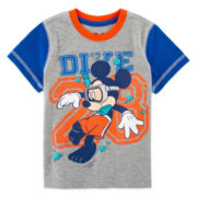 Disney Apparel by Okie Dokie® Short-Sleeve Mickey Tee - Toddler Boys