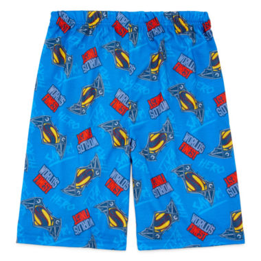 jcpenney.com | Comics Dawn Of Justice Pajama Shorts - Boys 4-12