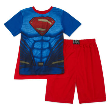 jcpenney.com | Comics Superman with Cape 3-pc. Pajama Set - Boys