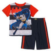 Batman 2-pc Pajama Set - Boys 4-10