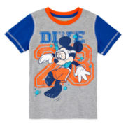 Disney Apparel by Okie Dokie® Short-Sleeve Mickey Tee - Preschool Boys 4-7