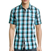 Lee® Short-Sleeve Weekend Button-Front Shirt