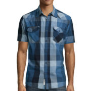 Lee® Short-Sleeve Western Button-Front Shirt