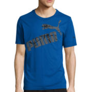 Puma® Fastbreak Short-Sleeve Graphic Tee