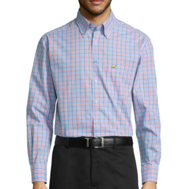 jcpenney.com | Jack Nicklaus® Long-Sleeve Button-Front Shirt