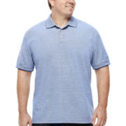 The Foundry Supply Co.™ Short-Sleeve Pique Polo - Big & Tall