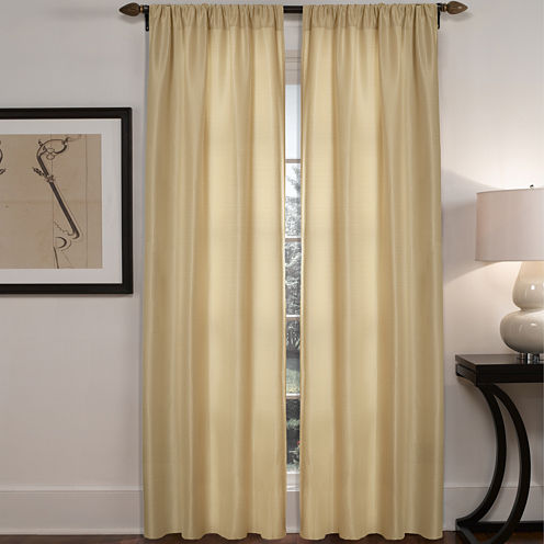 Diamond Waffle 2-Pack Rod-Pocket Curtain Panels