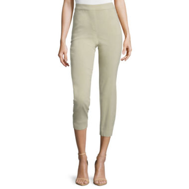 jcpenney.com | Liz Claiborne® Pull-On Crop Pants - Tall