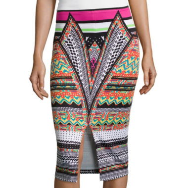 jcpenney.com | Bisou Bisou® Slit-Front Pencil Skirt