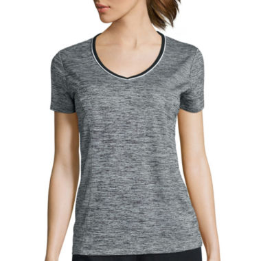 jcpenney.com | Made for Life™ Short-Sleeve Melange T-Shirt