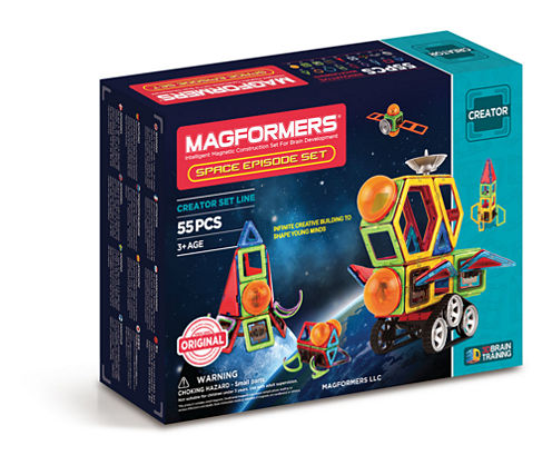 Magformers Space Epidsode 55 PC. Set