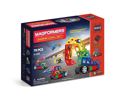 Magformers Dynamic Wheel 79 PC. Set
