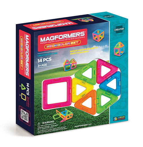 Magformers Neon 14 PC. Set