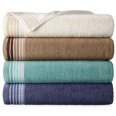 Home Expression Ombre Stripe Bath Towels 27
