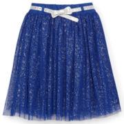 Dreampop® Tulle Mesh Skirt with Belt - Girls 7-16
