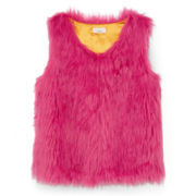 Dreampop® Faux Fur Vest - Girls 7-16