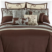 Brushwood 10-pc. Comforter Set & Accessories