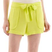 a.n.a® Sash-Tie Soft Shorts