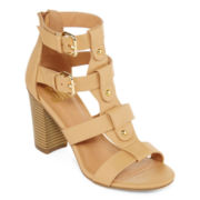 SM Pixie Strappy T-Strap Sandals