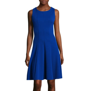 jcpenney.com | Danny & Nicole® Sleeveless Fit-and-Flare Dress