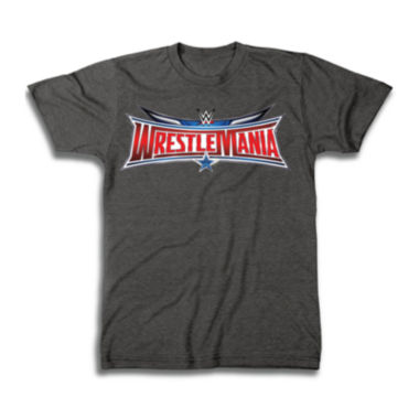jcpenney.com | Wrestlemania Logo Short-Sleeve Graphic Tee