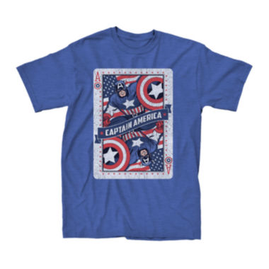 jcpenney.com | Captain America Short-Sleeve Ace Graphic Tee