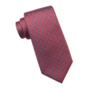 Collection By Michael Strahan Riverside Circle Geo Silk Tie - Extra Long
