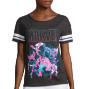 Marvel® Short-Sleeve Baseball Tee
